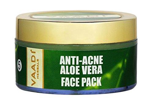 Vaadi Herbals Anti Acne Aloe Vera Face Pack (70gm)