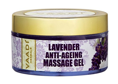 Vaadi Herbals Lavender Anti Ageing Massage Gel (50gm)