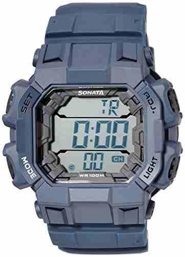 Sonata NH77025PP03 Superfibre Ocean III Digital Watch (NH77025PP03)