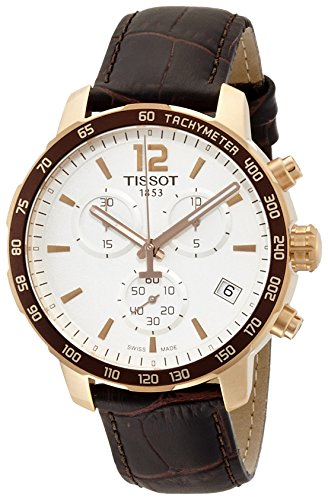 Tissot T0954173603700 Rose Gold Tone Chronograph Men's Watch (T0954173603700)