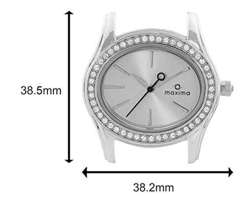 Maxima 29551CMLI Attivo Swarovski Analog Watch