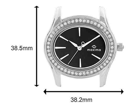 Maxima 29552CMLI Attivo Swarovski Analog Watch