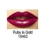 Avon Ultra Moisture Rich Gold Shine Lipstick 3.8 GM Ruby in Gold