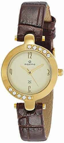 Maxima 29413LMLY Gold Analog Watch