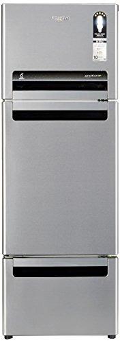 Whirlpool FP 263D Royal Protton 240 Litres Triple Door Refrigerator, Alpha Steel