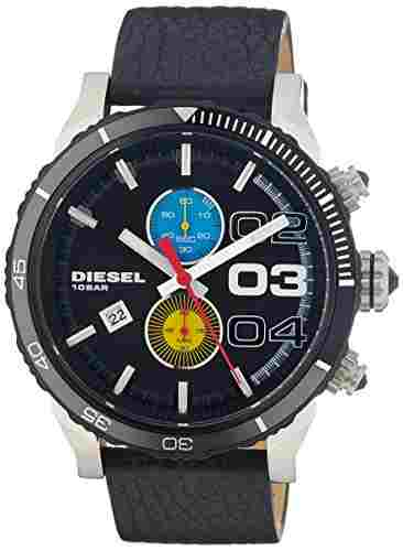 Diesel DZ4331I Double Dow Chronograph Black Dial Men's Watch (DZ4331I)