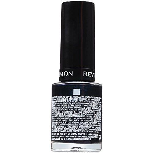 vlon Color Stay Gel Envy Longwear Nail Enamel, 12 ML 520 Blackjack