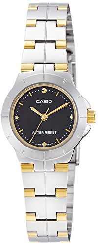 Casio Enticer LTP-1242SG-1CDF (A906) Analog Black Dial Women's Watch