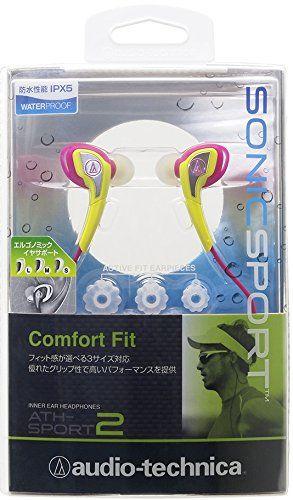 Audio-Technica Sonic Sport 2 In the Ear Headphones