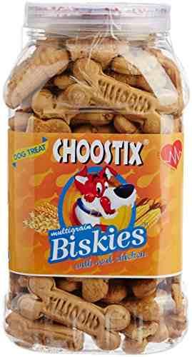 Choostix With Real Chicken Biskies (500gm)