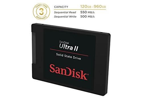Sandisk Ultra II (SDSSDHII-120G) 120GB Internal SSD