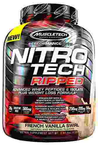MuscleTech Performance Series NitroTech Ripped (1.81Kg, French Vanilla Swirl)
