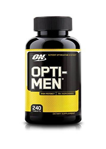 Optimum Nutrition Opti Men Supplements (240 Capsules)