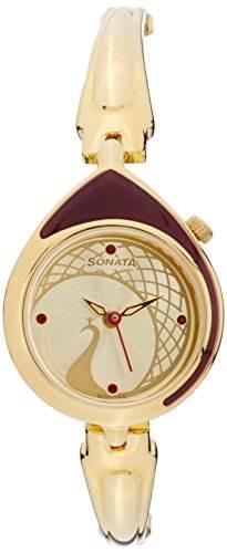 Sonata 8119YM02C Sona Sitara Analog Watch
