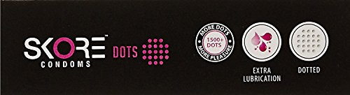 Skore Dots Dotted Condoms (10 Condoms)