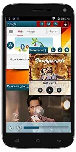 Panasonic P41 8GB Black Mobile