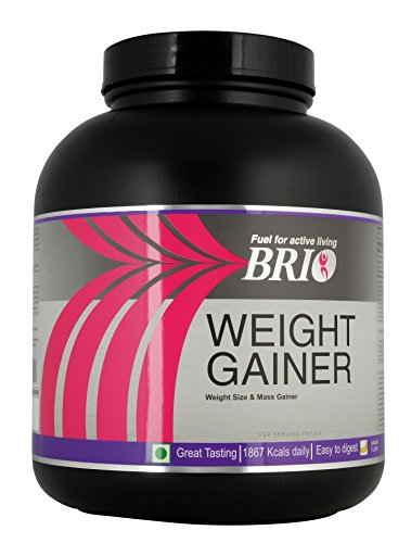 Brio Weight Gainer (3Kg / 6.61lbs, Banana)