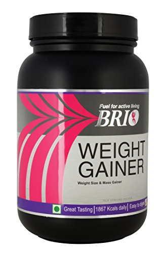Brio Weight Gainer (1.5Kg, Banana)