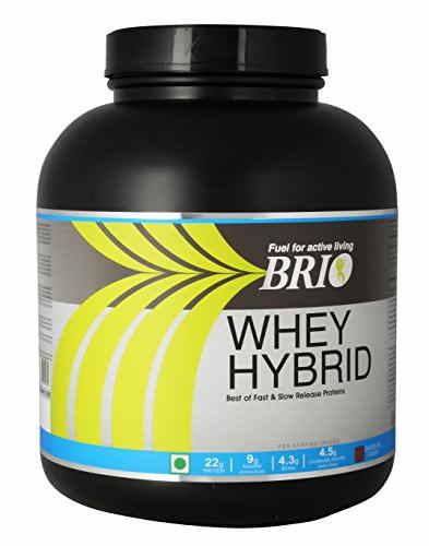 Brio Whey Hybrid (2Kg, Vanilla)