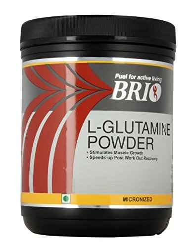 Brio Glutamine Post-Workout Micronized Powder (300gm)