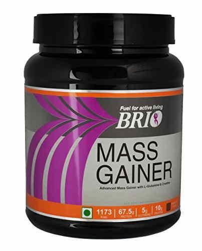 Brio Mass Gainer (500gm, Kesar Badam Pista)