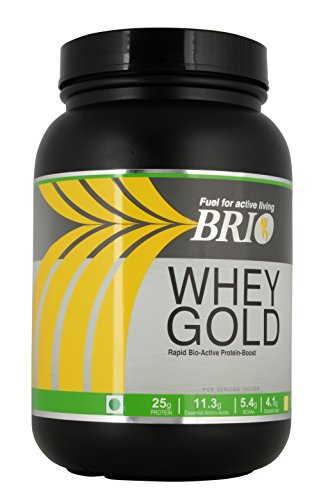 Brio Whey Gold Protein (1Kg, Chocolate)