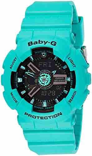Casio Baby-G BA-111-3ADR (B149) Analog Digital Black Dial Women's Watch (BA-111-3ADR (B149))