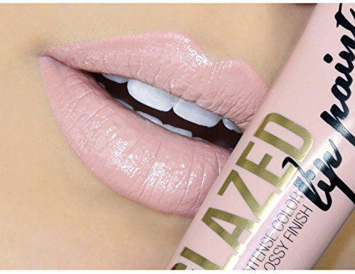 LA Girl Glazed Lip Paint, 12 ML Whisper