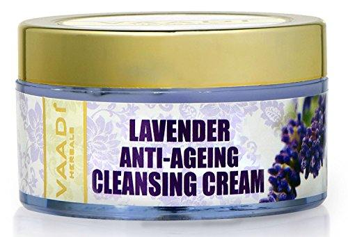 Vaadi Herbals Lavender Anti Ageing Cleansing Cream (50gm)