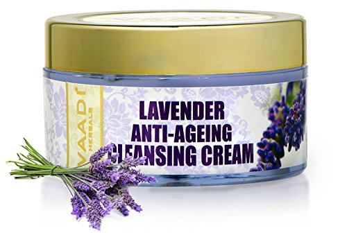 Vaadi Herbals Lavender Anti Ageing Cleansing Cream (50gm)