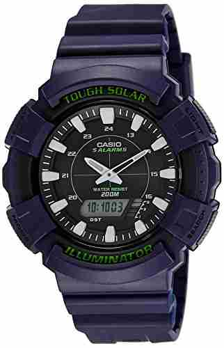 Casio Youth AD-S800WH-2AVDF (AD188) Series Analog Digital Black Dial Unisex Watch (AD-S800WH-2AVDF (AD188))