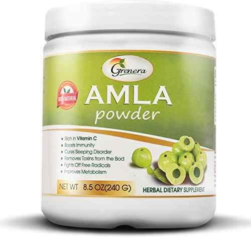 Grenera Organics Amla Powder Supplement 240 gm