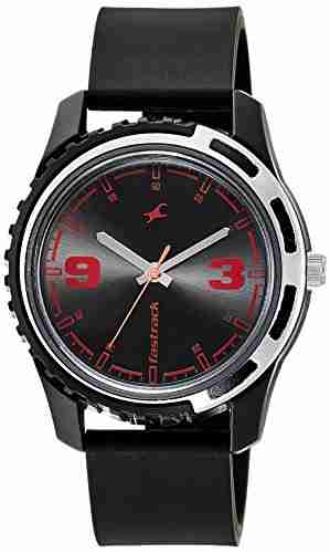 Fastrack 3114PP03 Casual Analog Black Dial Men's Watch (3114PP03)