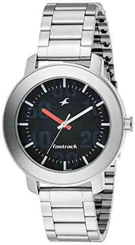 Fastrack 3121SM02 Casual Analog Black Dial Men's Watch