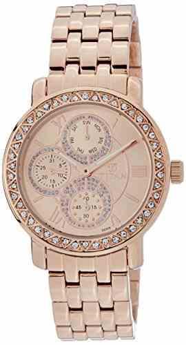 Titan Purple 9743WM01 Glam Gold Analog Watch (9743WM01)