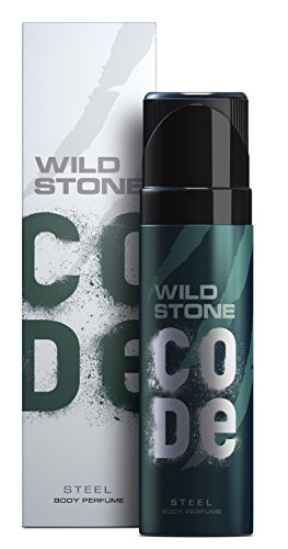 Wild Stone Steel Body Deodorant For Men, 120 ml