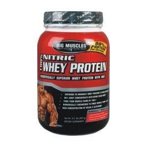 Big Muscle 100% Nitric Whey Protein (908gm)