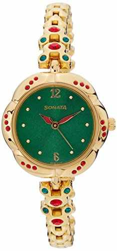 Sonata 8121YM01 Analog Watch