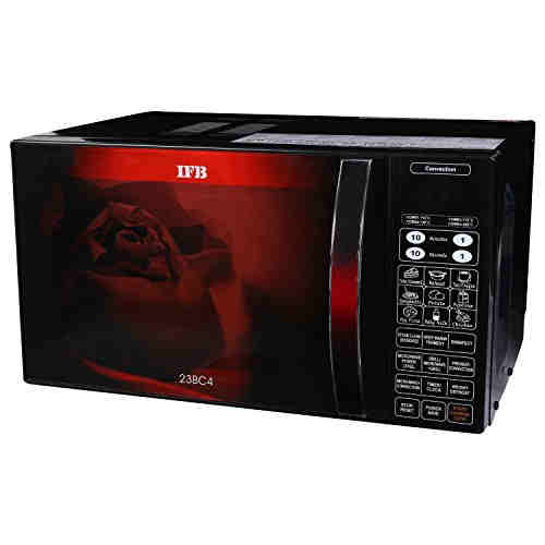 IFB 23BC4 23 Ltr Convection Microwave Oven Black/Floral Design