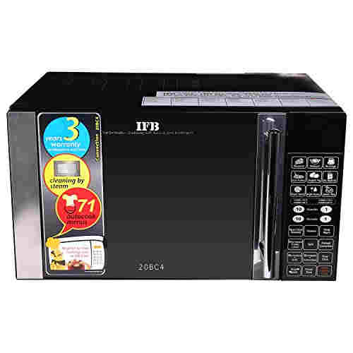 IFB 20BC4 20 Ltr Convection Microwave Oven Black