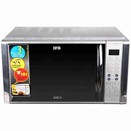 IFB 30 SC4 30-Ltr Convection Microwave OvenMetallic Silver