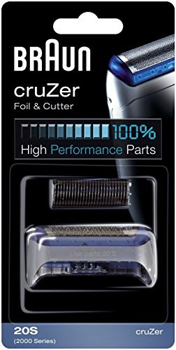 Braun Cruzer Replacement Foil & Cutter For Cruzer 1, 2, 3, 4, 1000, 2000 Series