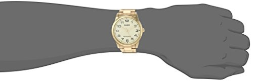 Casio Enticer MTP-V001G-9BUDF (A1083) Analog Gold Dial Men's Watch