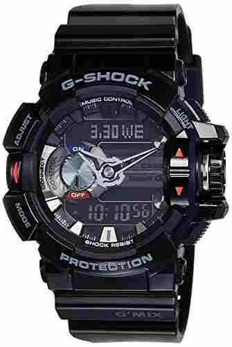 Casio G-Shock GBA-400-1ADR (G556) Analog Digital Black Dial Men's Watch