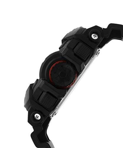 Casio G-Shock GA-400-1BDR (G566) Analog-Digital Black Dial Men's Watch