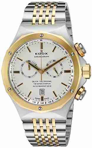 Edox 10108 357J AID Delfin Analog Watch