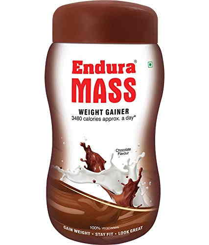 Endura Mass Weight Gainer (1Kg, Chocolate)