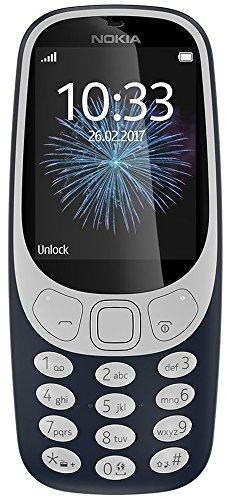 Nokia 3310 (2017), Black) Mobile