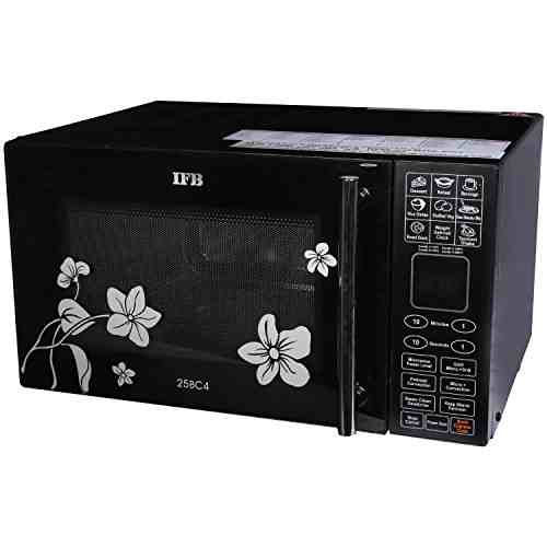IFB 25BC4 25 Ltr Convection Microwave Oven Black/Floral Design