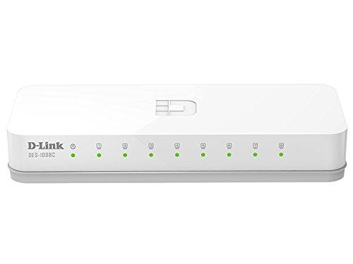 D-Link DES-1008C 10/100 Mbps Unmanaged Switch